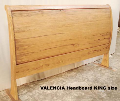 Valencia Bed headboard only KING Size - Baliette Home Furnishing ...